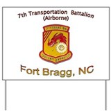 7th Transportation Bn Yard Sign