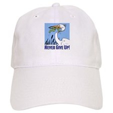 Never Give Up Baseball Cap