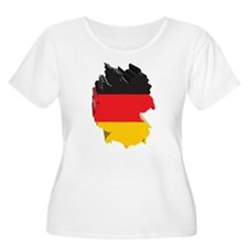 3D Map Of Germany T-Shirt