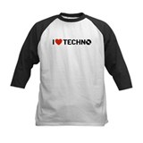 I Love Techno Tee