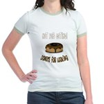 Donuts for Looking Jr. Ringer T-Shirt