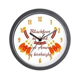 """Blackfoot"" Wall Clock"