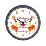 &quot;Blackfoot&quot; Wall Clock