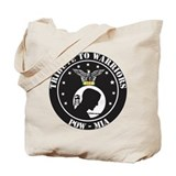 TRIBUTE TO POW - MIA Tote Bag