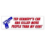 Ted Kennedy's Car Bumper Bumper Sticker