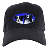 Border Collie Head Studies Baseball Cap