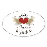 Team Jacob Sticker (Oval 10 pk)