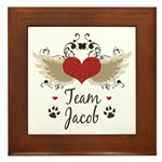 Team Jacob Framed Tile