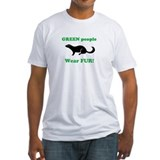 &amp;quot;Green People Wear Fur&amp;quot; -- Double-Sided