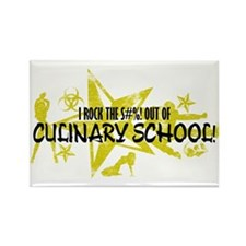 I ROCK THE S#%! - CULINARY Rectangle Magnet
