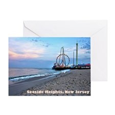 Seaside Heights Greeting Card