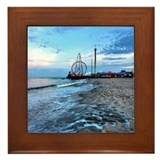 Cute Jersey shore Framed Tile
