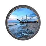 Cool Shore Wall Clock