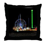 Funny Boardwalk Throw Pillow