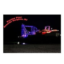 Cute Seaside heights boardwalk Postcards (Package of 8)