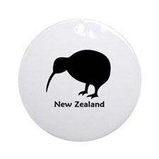 New Zealand (Kiwi) Ornament (Round)