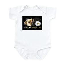 Sopie Puggle Black Infant Bodysuit