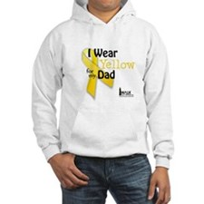 Yellow for Dad Hoodie