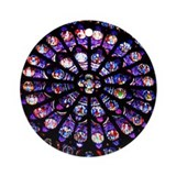 Rose Window Ornament