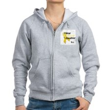 Yellow for Daughter Zip Hoodie