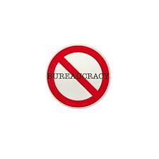 No Bureaucracy Mini Button