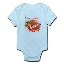 bolivia retro Infant Bodysuit