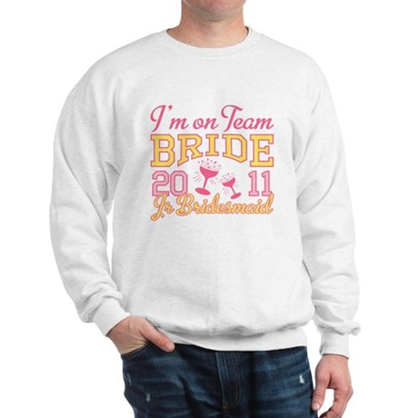Champagne Jr Bridesmaid Sweatshirt