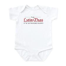 Extraordinary Latin Mass Infant Bodysuit