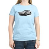 Charger White-Black Top Car T-Shirt