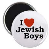 I Love Jewish Boys Magnet