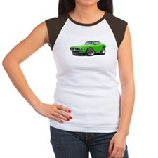 Charger Lime Car Tee