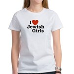 I Love Jewish girls Women's T-Shirt