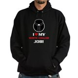 White Collar Hoody