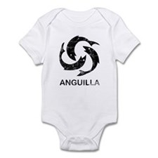 Vintage Anguilla Infant Bodysuit