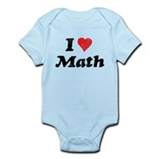 I Heart Math Infant Bodysuit