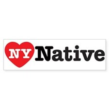 NY Native Bumper Bumper Sticker