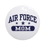 Air Force Mom Ornament (Round)