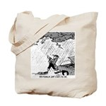 Ben Franklin Jump-Starts His Car Tote Bag