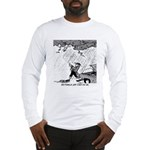 Ben Franklin Jump-Starts His Car Long Sleeve T-Shi