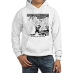Ben Franklin Jump-Starts His Car Hooded Sweatshirt