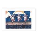 Dancing Pigs Postcards (Package of 8)