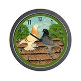 Wests #1 Wall Clock