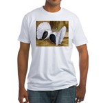 Saddle Fantails Fitted T-Shirt