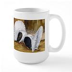Saddle Fantails Large Mug