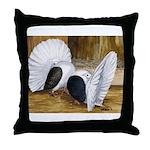 Saddle Fantails Throw Pillow