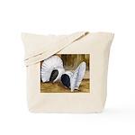Saddle Fantails Tote Bag