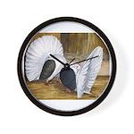 Saddle Fantails Wall Clock