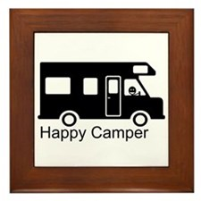 Happy Camper Framed Tile