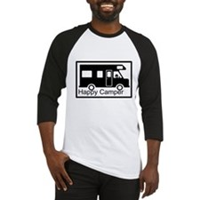 Happy Camper Baseball Jersey