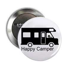 "Happy Camper 2.25"" Button (100 pack)"